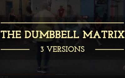 The Dumbbell Matrix: one of the best tools in your conditioning tool box