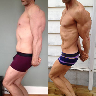 Aaron's transformation and natural contest win, using 1-on-1 coaching, the Cycle Diet, and the Hardgainer Solution