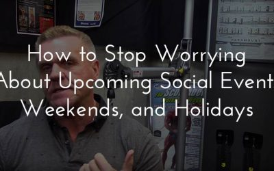Food issues: How to stop worrying about upcoming social events, weekends, and holidays