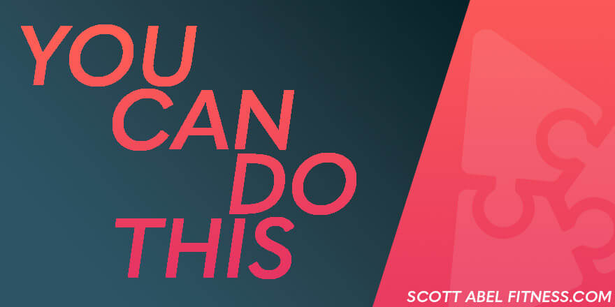 You can do this. Against all odds, you can do this.