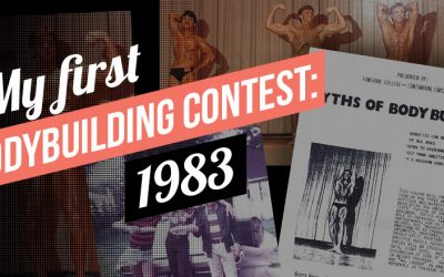 My First Bodybuilding Contest: 1983