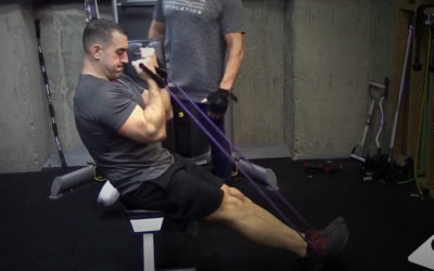 """Pumping Rubber"" Arm Blast with Resistance Bands"